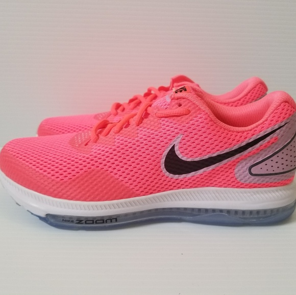 huge discount 76942 dd23f Nike Zoom All Out Low 2 Hot Punch Black Pink Shoes